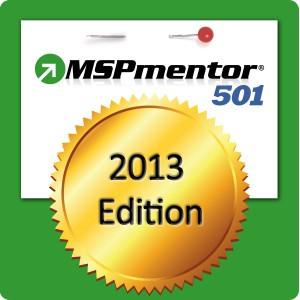 MSPmentor 501 - 2013 logo