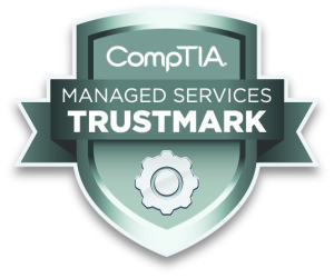 CompTIA Managed Services Trustmark logo