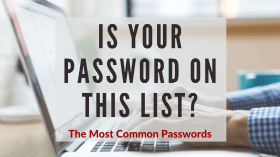 The Most Common Passwords